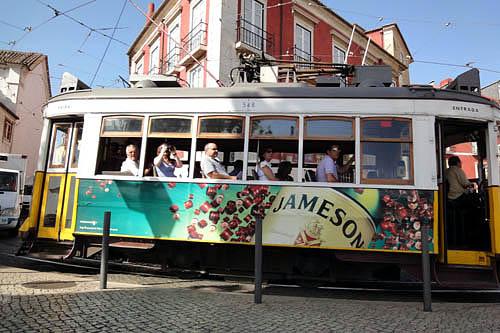 リスボンの路面電車01
