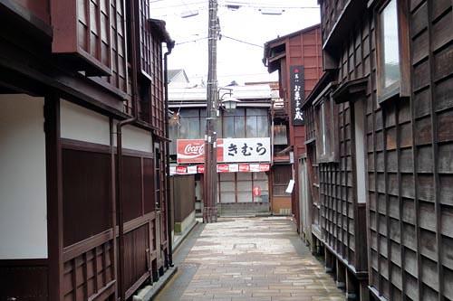 金沢の街角