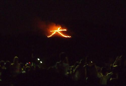 201208京都五山の送り火