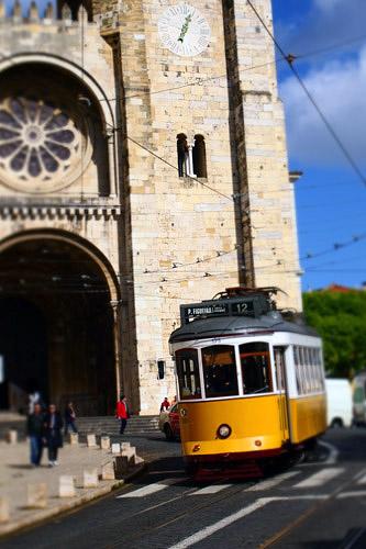2013リスボンの路面電車-ジオラマ風