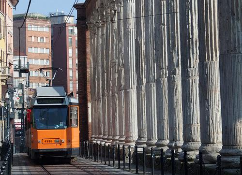 201403ミラノの路面電車