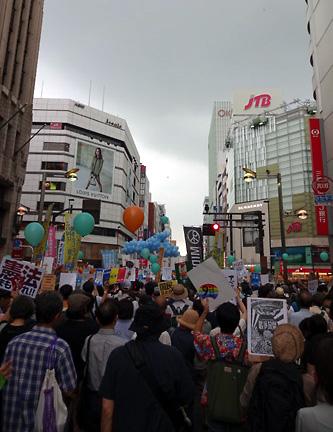 201509新宿歩行者天国街宣
