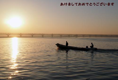 201501早朝のエーヤワディー川