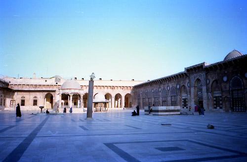 アレッポ大モスク01