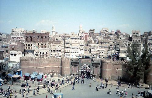 1996年3月イエメン、サナア旧市街01