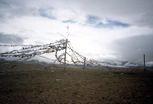 チベット、タルチョ
