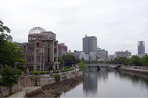 201607原爆ドーム