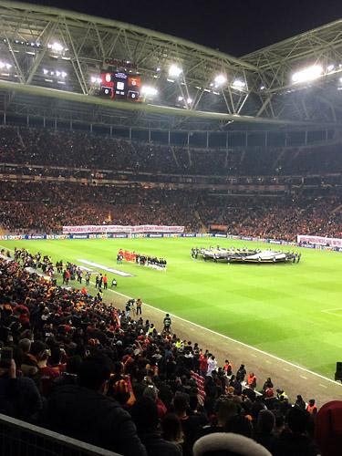ガラタサライvsベンフィカ at トルコ・テレコム・スタジアム01